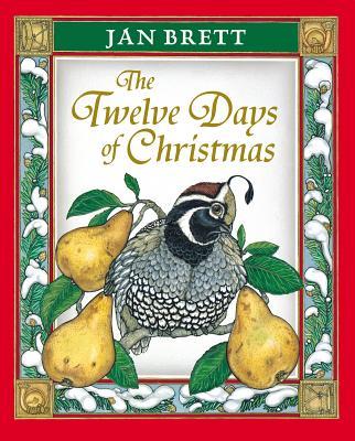 The Twelve Days of Christmas, Jan Brett