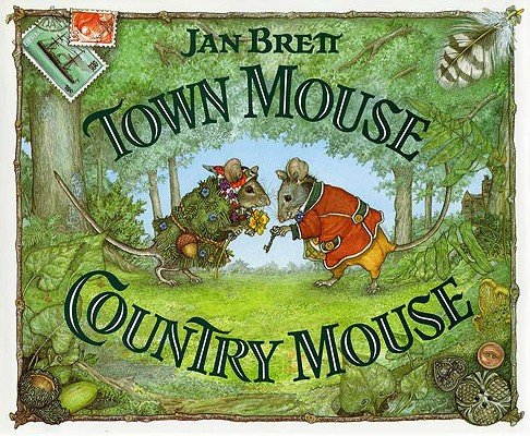 Town Mouse, Country Mouse, Brett, Jan