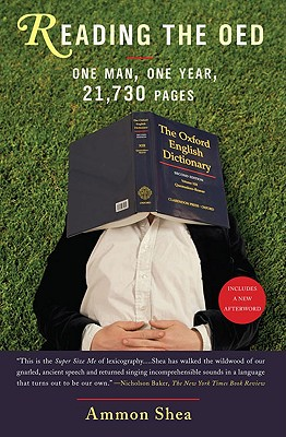 Image for Reading the OED: One Man, One Year, 21,730 Pages