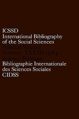 Image for International Bibliography of the Social Sciences: International Bibliography of Political Science 1984