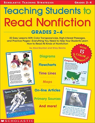 Image for Teaching Students To Read Nonfiction: Grades 2-4 (Teaching Strategies)