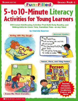Image for Fun-filled 5- To 10-minute Literacy Activities For Young Learners