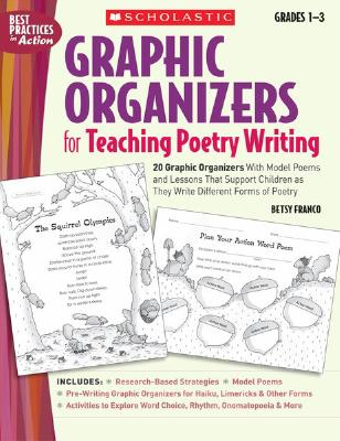 Image for Graphic Organizers for Teaching Poetry Writing: 20 Graphic Organizers With Model Poems and Lessons That Support Children as They Write Different Forms of Poetry (Best Practices in Action)