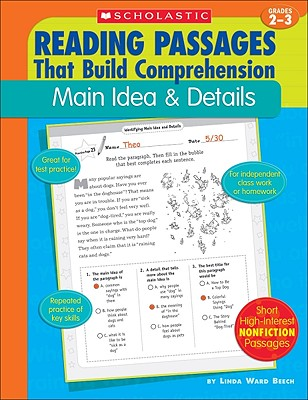 Main Idea & Details (Reading Passages That Build Comprehension), Beech, Linda Ward