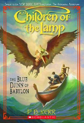 Image for The Blue Djinn of Babylon ( Book Two Children of the Lamp )