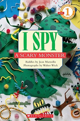 Image for Scholastic Reader Level 1: I Spy A Scary Monster