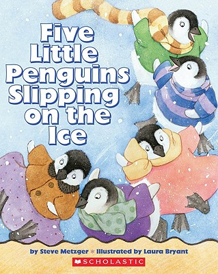 Image for Five Little Penguins Slipping On The Ice
