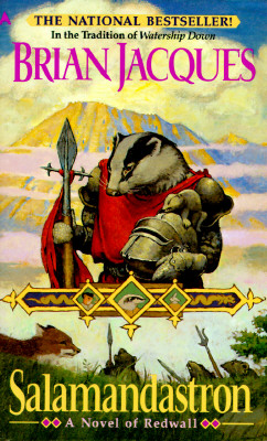 Salamandastron: A Novel of Redwall, Jacques, Brian