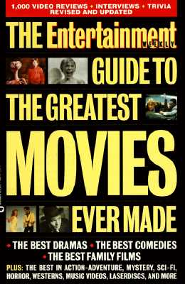 Image for The Entertainment Weekly Guide to the Greatest Movies Ever Made