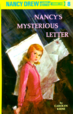 Image for NANCY'S MYSTERIOUS LETTER NANCY DREW #08