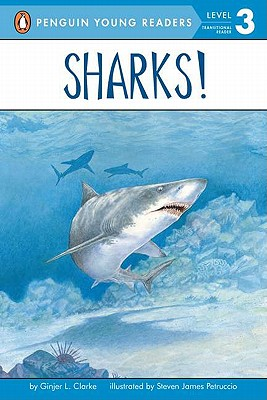 Sharks! (All Aboard Reading), Clarke, Ginjer L.