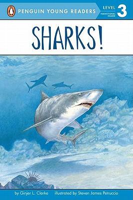 Sharks! (All Aboard Reading), Clarke, Ginjer L.