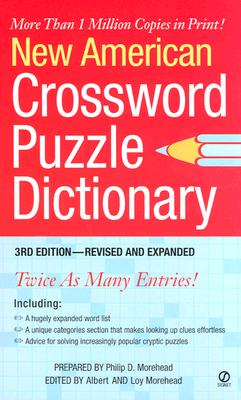 Image for New American Crossword Puzzle Dictionary: 3rd Edition--Revised and Expanded
