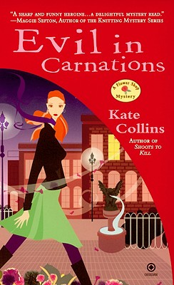 Evil in Carnations (Flower Shop Mysteries, No. 8), Kate Collins