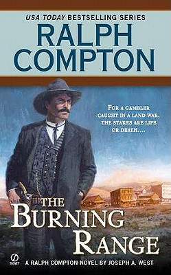 Image for Ralph Compton The Burning Range (Ralph Compton Western Series)