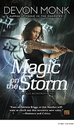 """""""Magic on the Storm (Allie Beckstrom, Book 4)"""", """"Monk, Devon"""""""