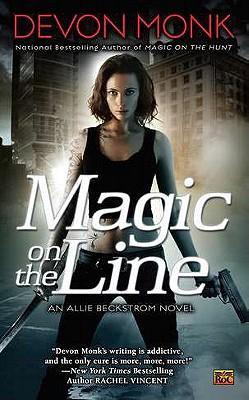 "Magic on the Line: An Allie Beckstrom Novel, ""Monk, Devon"""