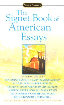 Image for The Signet Book Of American Essays (signet Classics)