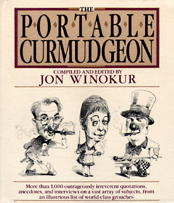 PORTABLE CURMUDGEON, WINOKUR, JON