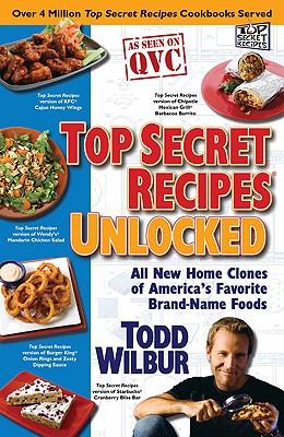 Image for TOP SECRET RECIPES UNLOCKED : ALL NEW HO