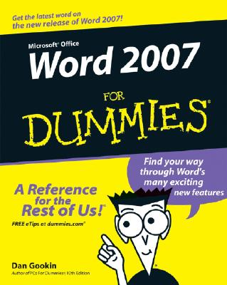 Image for Word 2007 For Dummies