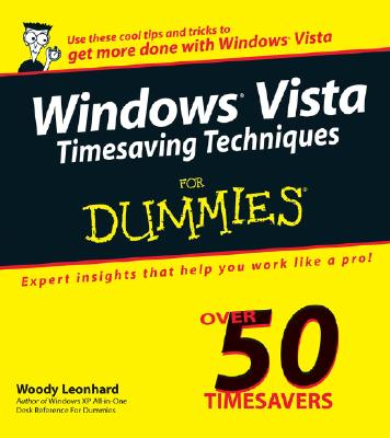 Image for Windows Vista Timesaving Techniques For Dummies (For Dummies Series)