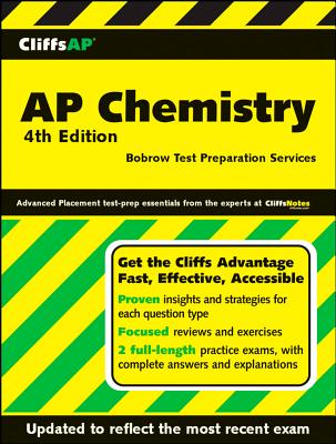 """CliffsAP Chemistry, 4th Edition"", Bobrow Test Preparation Servic"