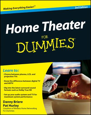 Image for HOME THEATER FOR DUMMIES