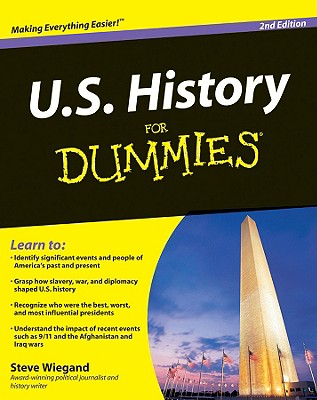 U.S. History For Dummies, Steve Wiegand