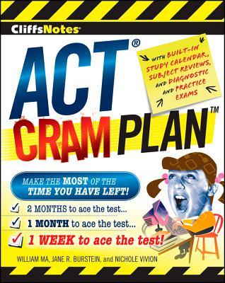 """CliffsNotes ACT Cram Plan (Cliffsnotes Cram Plan), """"Vivion, Nichole, Burstein, Jan"""""""