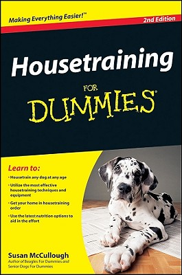 Image for Housetraining For Dummies