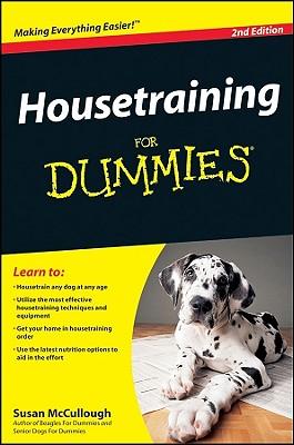 Housetraining For Dummies, Susan McCullough
