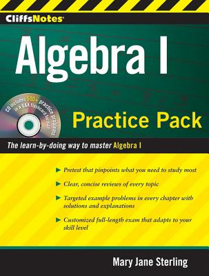 """CliffsNotes Algebra I Practice Pack, """"Sterling, Mary Jane"""""""