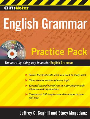 """CliffsNotes English Grammar Practice Pack, """"Magedanz, Stacy, Coghill, Jeff"""""""
