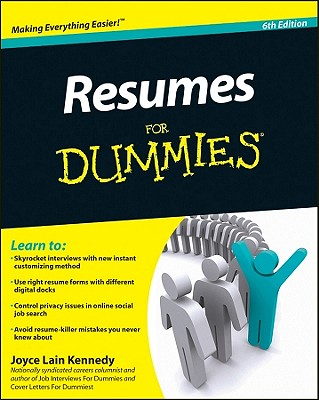 Image for RESUMES FOR DUMMIES