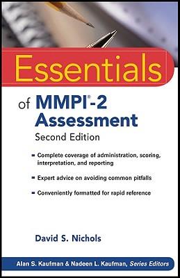 Essentials of MMPI-2 Assessment, Nichols, David S.