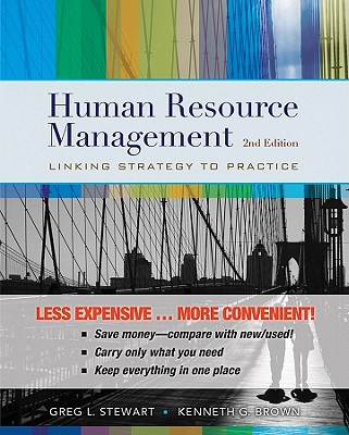 Human Resource Management, Second Edition Binder Ready Version, Greg L. Stewart, Kenneth G. Brown
