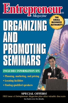 Image for Entrepreneur Magazine: Organizing and Promoting Seminars