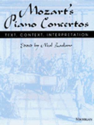 Image for Mozart's Piano Concertos: Text, Context, Interpretation