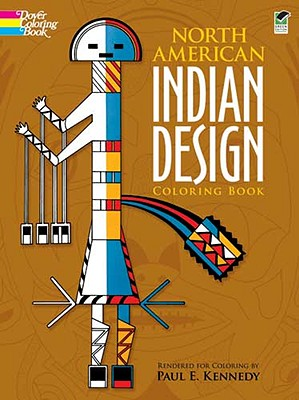 Image for North American Indian Design Coloring Book (Dover Design Coloring Books)
