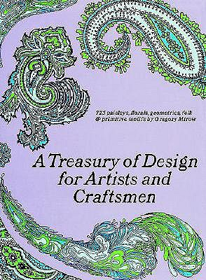 Image for A Treasury of Design for Artists and Craftsmen (Dover Pictorial Archive)
