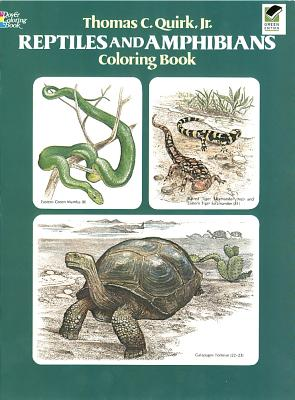 Image for Reptiles and Amphibians Coloring Book