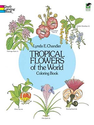 Image for Tropical Flowers of the World Coloring Book