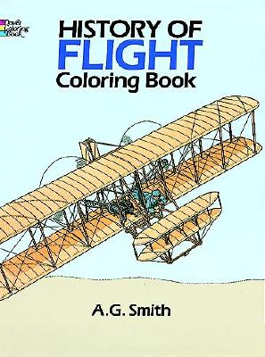 Image for History of Flight Coloring Book (Colouring Books)