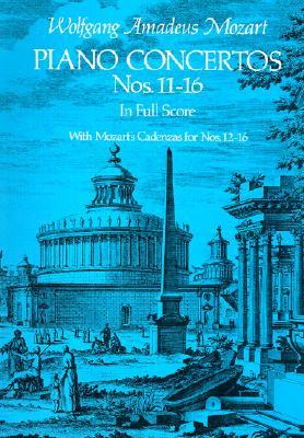 Image for Piano Concertos Nos. 11-16 in Full Score (Dover Music Scores)