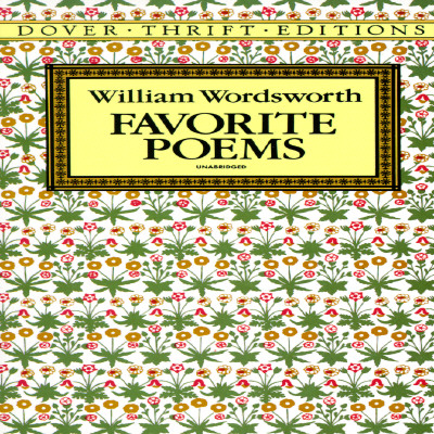 Favorite Poems (Dover Thrift Editions), William Wordsworth