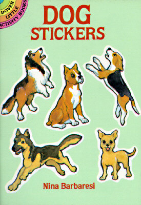 Dog Stickers (Dover Little Activity Books Stickers), Nina Barbaresi