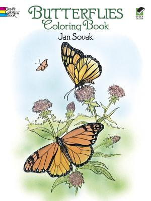 Butterflies Coloring Book (Dover Nature Coloring Book), Jan Sovak