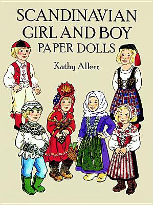 Scandinavian Girl and Boy Paper Dolls, Kathy Allert