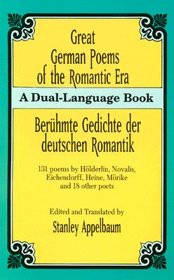 Image for Great German Poems of the Romantic Era